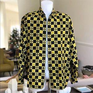 Versace Classic V2 silk dress shirt Vintage